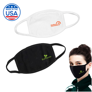 USA MADE! FABRIC FACE MASK, 3 LAYER