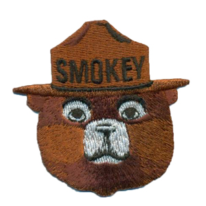 EMBROIDERED PATCH, 3 1/2
