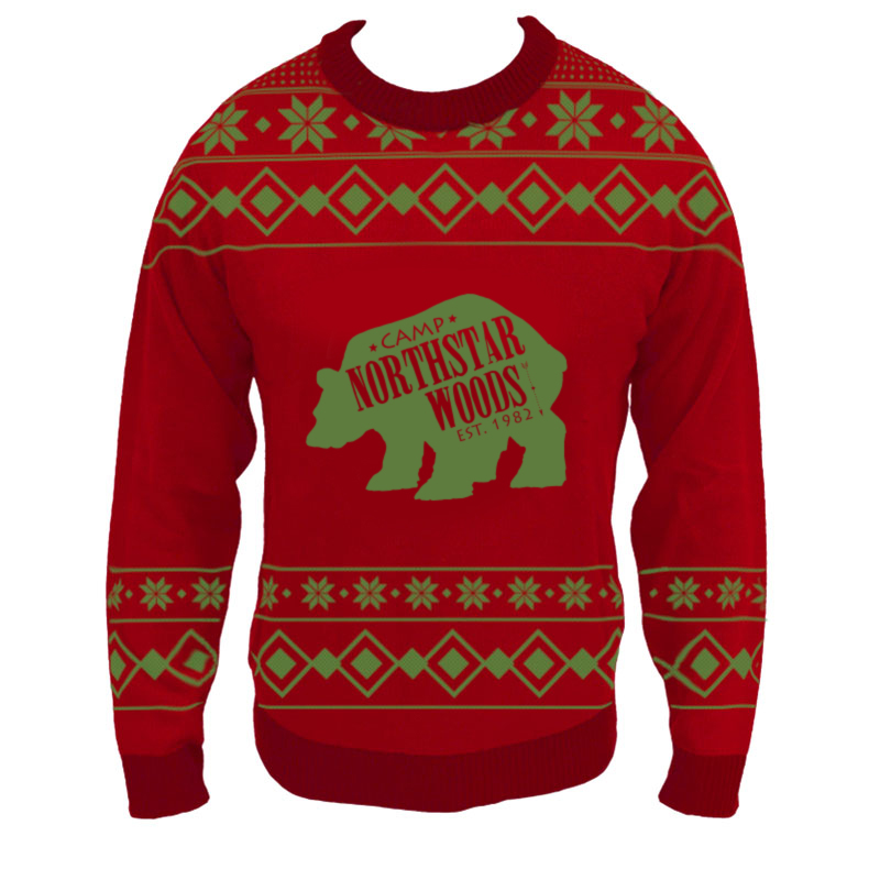 custom full knit christmas sweater